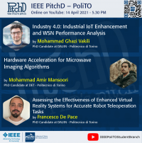 IEEE PitchD 2021 #3: Discover the Research at PoliTo